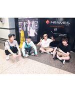 Hyunjin, Bang Chan, Changbin and Han IG Update 180713 (2)