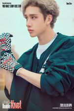 Bang Chan Double Knot Promo Picture (1)