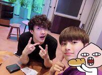 Bang Chan and I.N Update 180704 (1)