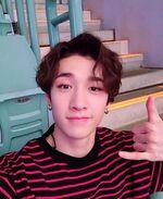 Bang Chan IG Update 180804 (2)