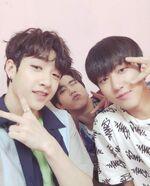 Bang Chan, Changbin and Han IG Update 180531