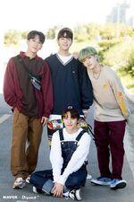 I.N, Seungmin, Changbin and Bang Chan Naver x Dispatch (2)