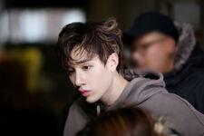 Bang Chan Distric 9 Music Video Shooting Behind (4)
