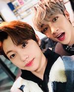 Felix and Bang Chan IG Update 180202