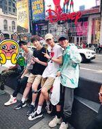 Hyunjin, Bang Chan, Changbin and Han IG Update 180713 (1)