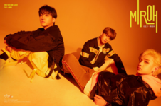 Bang Chan, Lee Know and Changbin Clé 1 Miroh Promo Picture