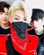Felix, Bang Chan and Seungmin IG Update 180429