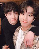 Han and Bang Chan IG Update 180506 (2)