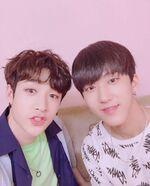 Bang Chan and Changbin IG Update 180531