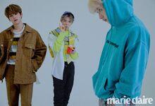 Lee Know Felix Bang Chan Marie Claire Magazine April 2019