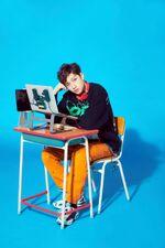 Bang Chan Mixtape Gone Days Jacket Shooting Behind