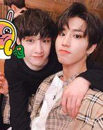 Han and Bang Chan IG Update 180506 (1)