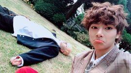 I.N and Bang Chan IG Update 181123 (1)