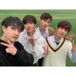 Bang Chan Changbin Felix Seungmin IG Update 20200325