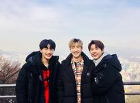 I.N, Bang Chan and Felix IG Update 180123 (1)