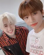 Bang Chan Hyunjin IG Update 20191003