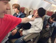 Bang Chan, Lee Know, Changbin and Hyunjin IG Update 180420 (2)