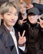 Yoon Jisung Bang Chan Changbin IG Update 20190220