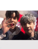 Bang Chan and Seungmin IG Update 180204 (2)