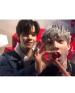 Bang Chan and Seungmin IG Update 180204 (3)
