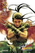 Street Fighter Legends - Ibuki 4 B UDON comic - cover