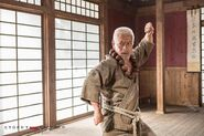 Street Fighter-- Assassin's Fist - Goutetsu fighting posture (Togo Iwaga)