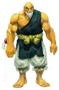 SFIV PC Concept Art Gouken 03