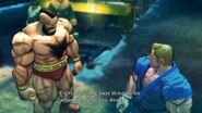 Street Fighter IV - Zangief's Rival Cutscene English Ver