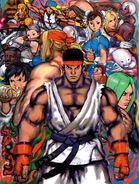 STREET FIGHTER III 3rd STRIKE (PS2 version unused)