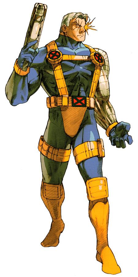 Marvel vs. Capcom 2: New Age of Heroes/Official Art/Marvel