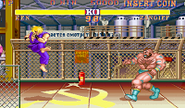 Ken Air Tatsumaki Senpukyaku Street Fighter II Turbo