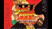 Street Fighter III New Generation Original Arrange Album (D1;T8) CAVE MAN odd note