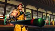 Street Fighter X Tekken - Rolento & Ibuki's Rival Cutscene English Ver