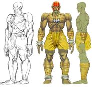 SFIV PC Concept Art Dhalsim 02