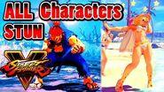 快打旋風5 - 全角色 暈眩集/STREET FIGHTER 5 - ALL Characters STUN Akuma (Gouki) 1080P Full HD 60fps
