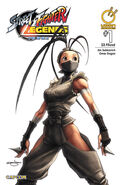 Street Fighter Legends - Ibuki 1 A UDON comic - cover