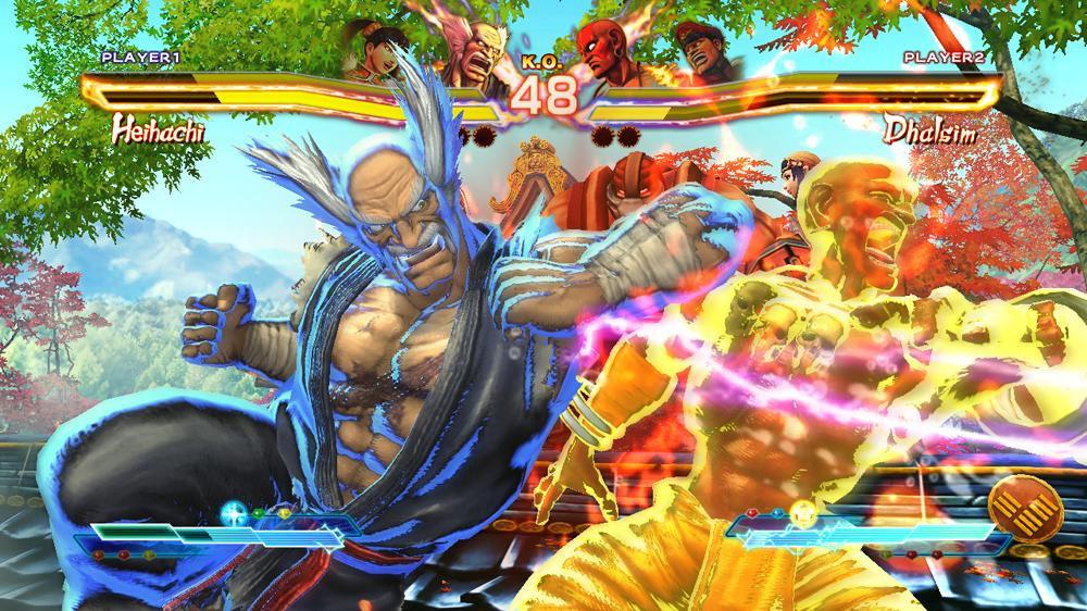 Street Fighter × Tekken/Screenshots