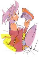 Rose-cap-artwork-Street Fighter Alpha Warriors' Dreams