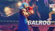 SFV- Balrog Reveal Trailer