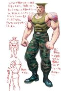 SFIV PC Concept Art Guile 02