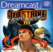 Street Fighter III 3rd Strike (SegaDreamcast - cubierta Europa)