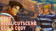 SFXT Guy & Cody Rival Battle Cutscene