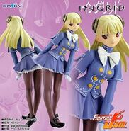 Capcom Fighting Jam - Ingrid PVC figure