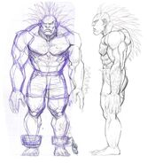 SFIV PC Concept Art Blanka 03