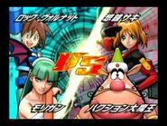 Tatsunoko VS Capcom Morrigan Megaman Volnutt Arcade Mode Part 2 of 3