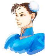 SFIV PC Concept Art Chun Li 02