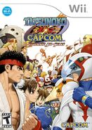 Tatsunoko vs Capcom -- Ultimate All-Stars (cubierta eeuu)