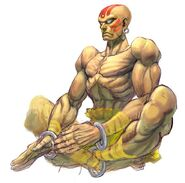 SFIV PC Concept Art Dhalsim 03