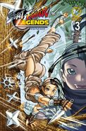 Street Fighter Legends - Ibuki 3 B UDON comic - cover