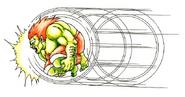 Fighter - Blanka - Rolling Attack